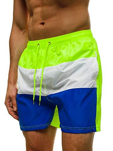 OZONEE heren zwembroek zwemshorts korte zwembroek broek broek mannen jongens zomer shorts zwemshorts camouflage zakken polyester licht zwemmen baden Athletic 716