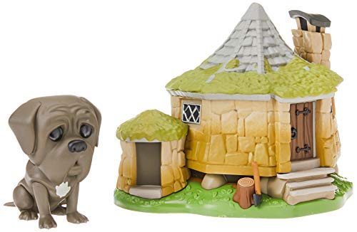 Funko 44230 POP! Town: Harry Potter Hagrid's Hut w/ Fang