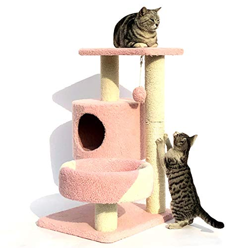 YANGYUAN Árbol de Gato, Torre de Gato pequeño, condominio, rasguño Post