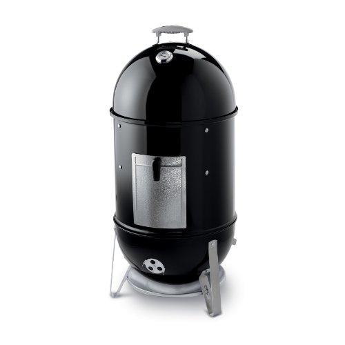 Weber 731004 Smokey Mountain Cooker Barbecue au Fumoir Noir Diamètre 57 cm