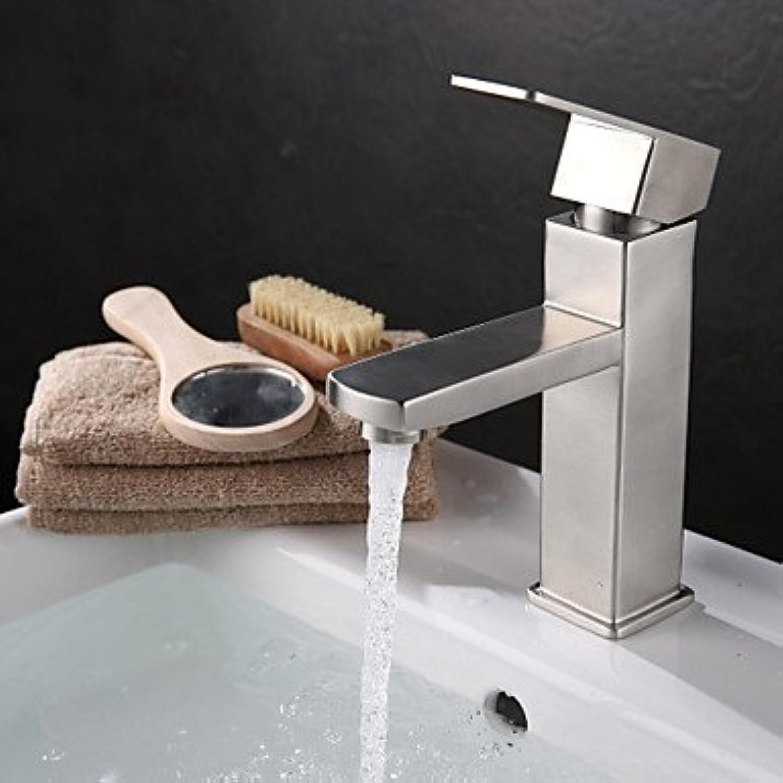 HZZymj-Hochwertige modische 304 Edelstahl Waschbecken Wasserhahn