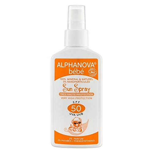Alphanova Bébé Sun Spray SPF 50 125 g
