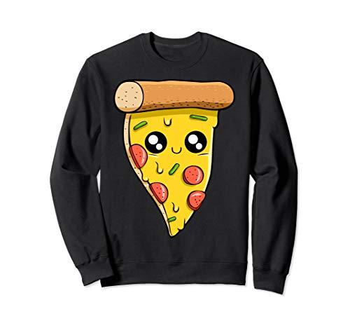 Kawaii Pizza, italienisches Essen, Käseteigwaren Sweatshirt