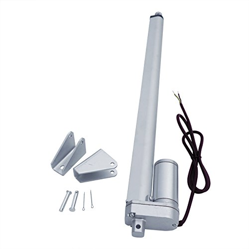 ECO-WORTHY 12 Volt 18 Inch Stroke Linear Actuator 330 Pounds Lbs Maximum Lift for Solar Tracker