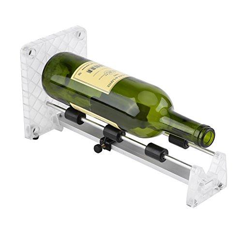 ボトルカッター ボトルカッティングマシン グラスカッティング ガラスカッター ガラス切断機 サイクルツール Bottle Cutting bottle cutter DIY 花瓶 燭台 (赤)