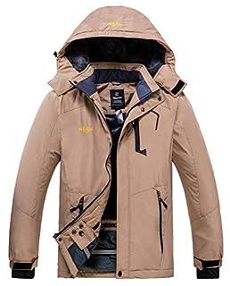 Wantdo Men's Winter Snow Coat Waterproof Ski Jacket Blending Yellow Medium (B07PG8ZVNH)   Amazon price tracker / tracking, Amazon price history charts, Amazon price watches, Amazon price drop alerts