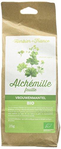L'Herbier de France Alchémille Feuilles Bio Sachet Kraft 25 g