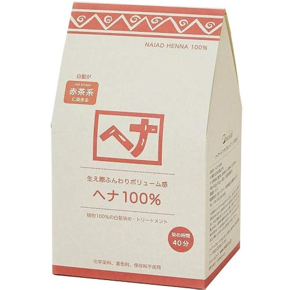 表向き研磨剤独特のNaiad(ナイアード) ヘナ 100% 400g