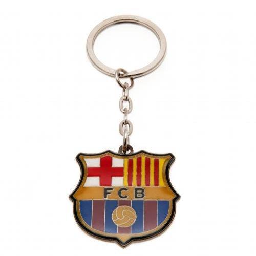 FC Barcelona Offizieller Fußball-Schlüsselanhänger, tolles Geschenk zu Weihnachten/zum Geburtstag, Geschenkidee für Männer und Jungen