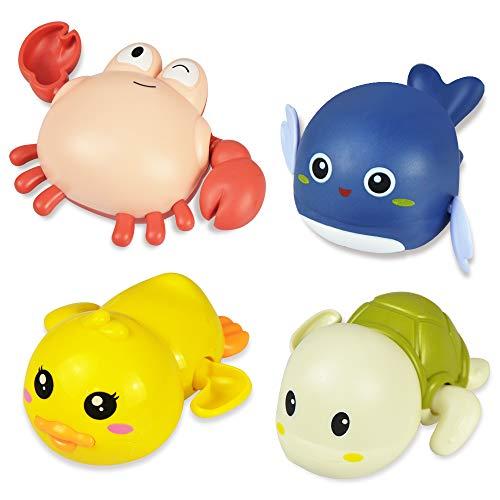 Nice2you Juguetes baño Bebe, Juguetes para PiscinaPre Aprendizaje Educativo Juguetes Flotantes de Agua Regalo para Bebé