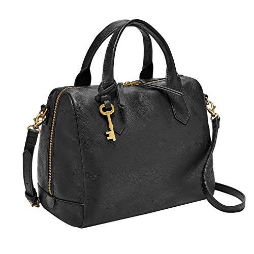 Fossil womens Zb7268001 Top Handle Handbag, Black, One Size US