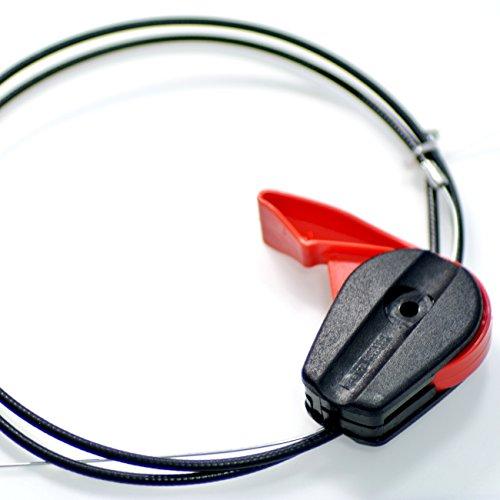 jrl cortacésped del acelerador Cable para 65 inch