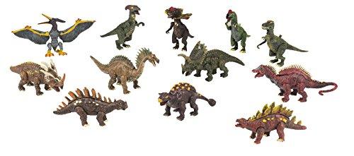 Eddy Toys - 98177 - Modèle Aléatoire - Set De Figurines - Dinosaure - 6 Pièces