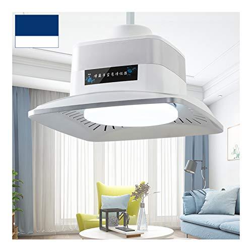 LORIEL Purificador De Aire - Araña, Se Puede Usar para Purificación De Iones Negativos/Lámpara De Techo/Eliminación De Formaldehído/Eliminación De Polvo PM2.5 Lámpara De Purificación,Blanco