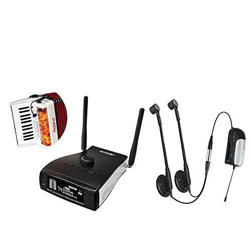 ACEMIC AT-20 Micrófono de Instrumento Condensador Inalámbrico Micrófono Acordeón Set (AT-20)