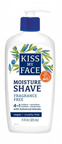 Kiss My Face Gel de rasage hydratant sans parfum , 330 ml