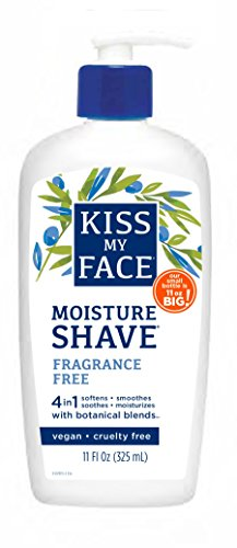 Kiss My Face Moisture Shave 325 ml Fragrance Free Pump by Kiss My Face