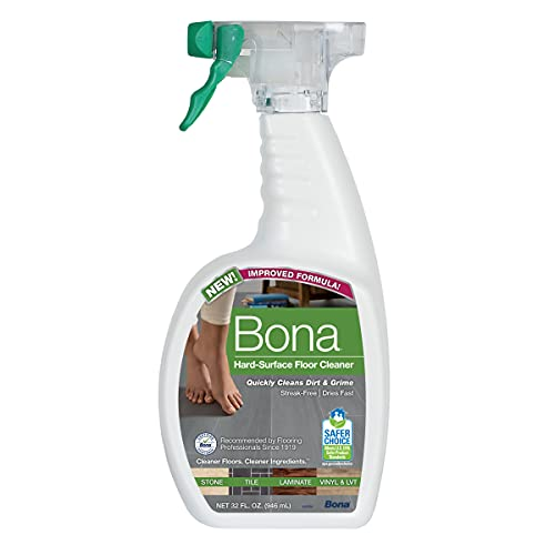 Bona Hard-Surface Floor Cleaner Spray, 32 Fl Oz (Pack of 1), Original
