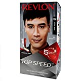 Revlon Top Speed Hair Color Man, Natural Black 70M with Free Outrageous Conditioner