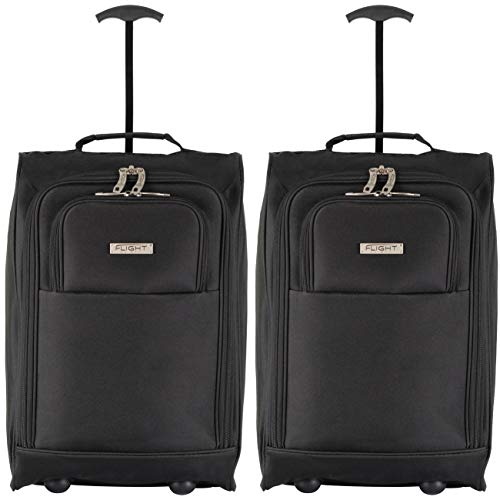 Flight Knight 55x40x20cm Ryanair, Vueling, Emirates Maximium Carry On Suitcase Size for Hand Luggage