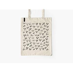 Baumwolltasche – DICKE FREUNDE – typealive – Stofftasche mit langen Henkeln, lustigem Motiv, perfekt zum Einkaufen oder…