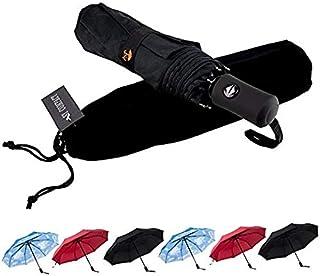 comprar comparacion SY Paraguas Resistente al Viento autom¨¢Tico de Viaje Compacto Ligero irrompible Umbrellas-Factory Directa Alta rentable P...