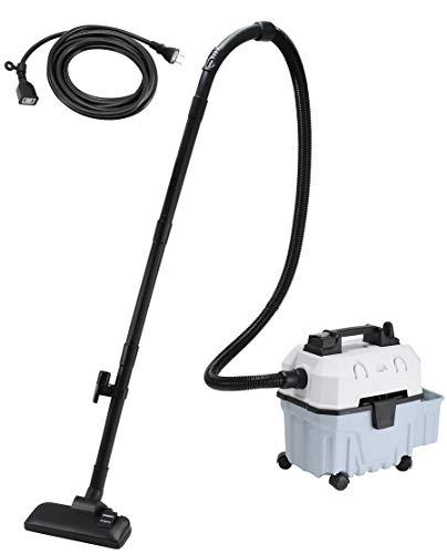 【amazon限定ブランド】アムファンズ(amfun's) プラスチックタンク バキュームクリーナー oblong mini AM-15L 延長コード5m付属 本体: 奥行42cm 高さ47cm 幅30cm 15L 乾湿両用 集塵機