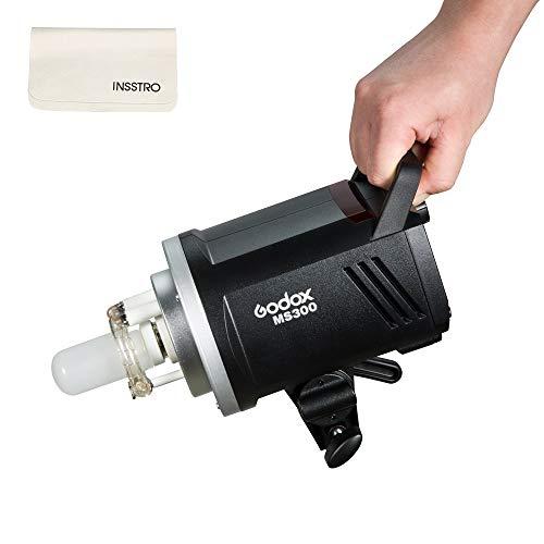 Godox MS300 110V スタジオストロボ GN58 5600±200K 1/32~1/1パワー調整 5%~100%の輝度調整 0.1~1.8s...