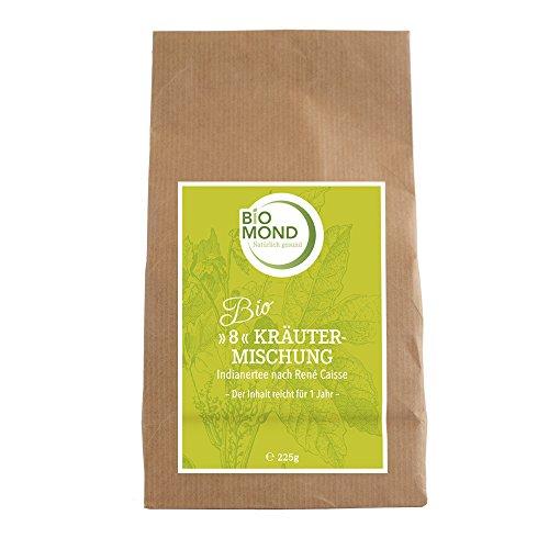 BIO *8*- Kräutermischung Kräutertee *Indianertee* René Caisse, 225 g/Schamanen Tee/Packung für 1 Jahr