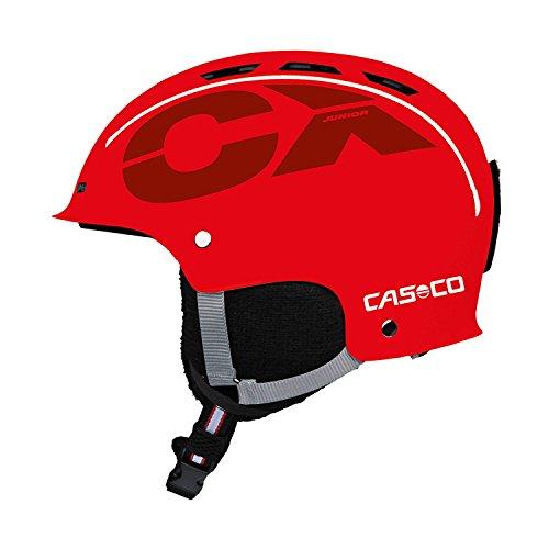 Skihelm für Kinder Casco CX-3 Junior, rot, Gr. S (50-55 cm)