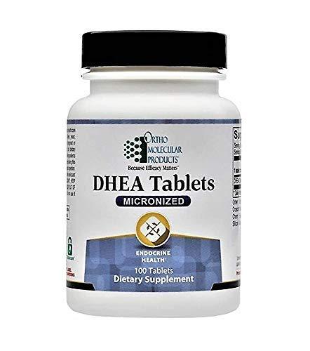 Ortho Molecular DHEA Tablets (Micronized) 5mg - 100 Tablets