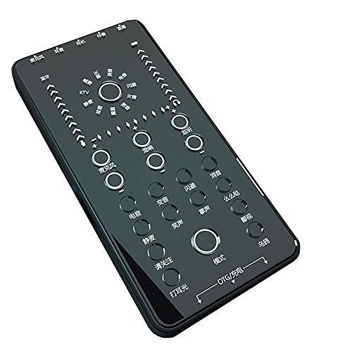 Interfaz de audio con múltiples efectos de MMFXUE