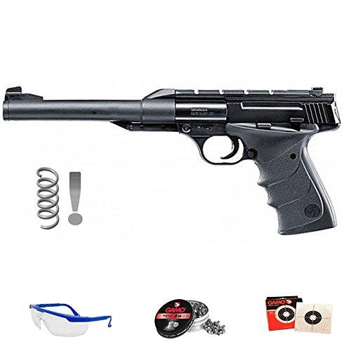 Browning Pack Pistola de Aire comprimido Buck Mark Urx - Arma de Muelle y balines (perdigones de Plomo) <3,5J