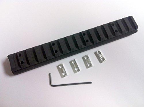 KSG Kel-Tec #1 Extended Aluminum Lower Safety Rail - By Hi-Tech Custom (Black)