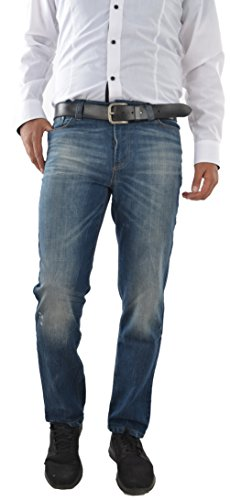 Marken Outlet Kriftel -  Pantaloni - Straight - Uomo Blu Blu