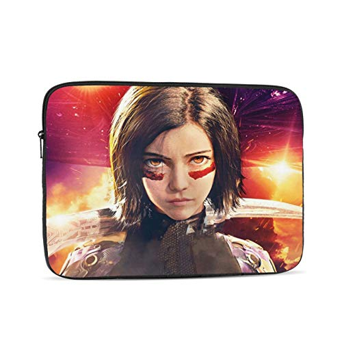 Alita Battle Angel Notebook Sleeve Bag Laptop Portable Protective Fashion Briefcase Ultra Tablet Cover Computer Case 13 inch