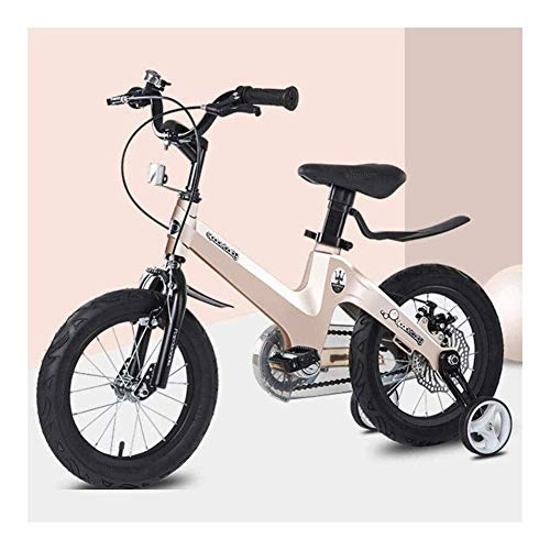 MIEMIE Bicicleta sin Pedales para niños de 2 a 6 años - Bicicleta de Equilibrio para niños pequeños con Campana de Freno y Canasta para Que los niños aprendan a Andar Antes de la Bicicleta