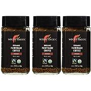 Mount Hagen: Organic FairTrade Instant Coffee Award-Winning, Single-Origin, 100% Arabica, Pack of 3 x 3.53 oz Each