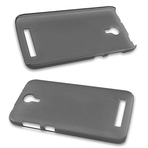 caseroxx Backcover für Doogee Valencia 2 Y100 Pro, Tasche (Backcover in schwarz-transparent)