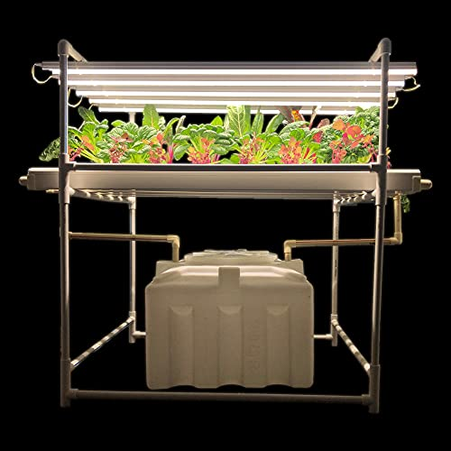 City Greens Hydroponics Kit for Home - Indoor NFT Hydroponic System - 30 Planter Set - with Full Spectrum Grow Lights