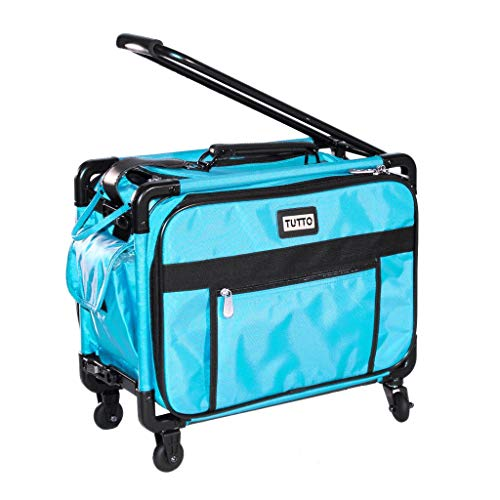 """Tutto 17"""" Carry-On - Small (Fits Jem, etc.) (Turquoise) -  4217"""