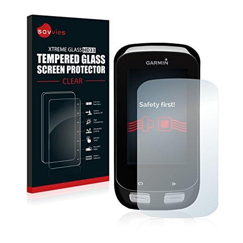 savvies Protector Cristal Templado Compatible con Garmin Edge 1000 Protector Pantalla Vidrio,...