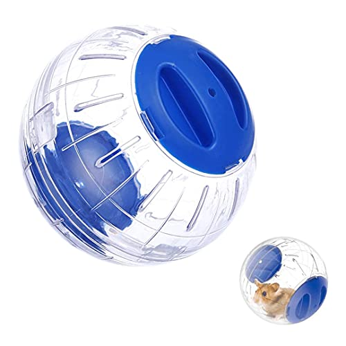 FayTun Hamster Running Ball Spielzeug, Relieve Boredom Interaktive Zwerg Hamster Toy Exercise Ball, 15cm Kunststoff Kleintier Laufen Jogging Übung Ball Spielzeug für Zwerg Hamster.