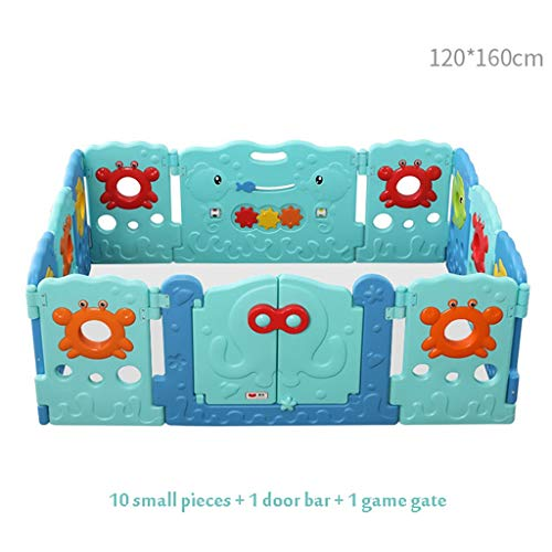 Great Price! Niuniu Playpen for Baby and Toddlers with Activity Panel and Door Baby Play Yard, Baby ...