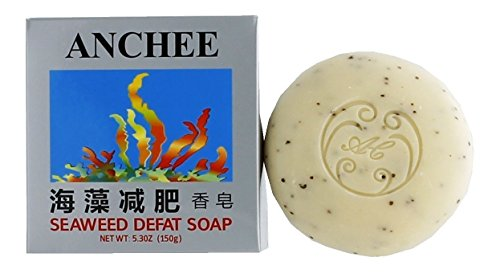 Anchee Seaweed Defat Soap, 5.3 Ounces (Pack of 10)