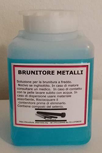 Brunitore metallo professionale per ferro e acciai al carbonio conf. da 500 ml