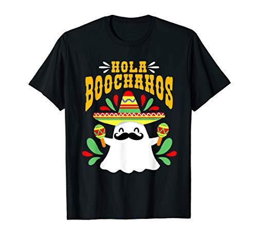 Dia de los Muertos /Tag der Toten & Halloween Lustiges Geist T-Shirt