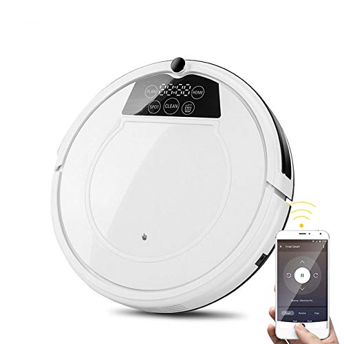 For Sale! BINGFEI Robot Vacuum Cleaner APP and Voice Control for Hard Floor Pet Hair Mop and Water A...