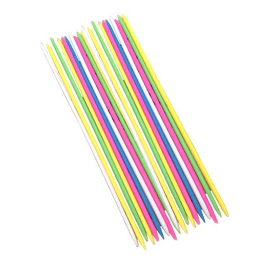 Toyvian Pick-up Sticks 30pcs Juego Padre-Hijo Gigante Pick Up Sticks Game Gran Juego Divertido para Todas Las Edades (Color Mezclado)