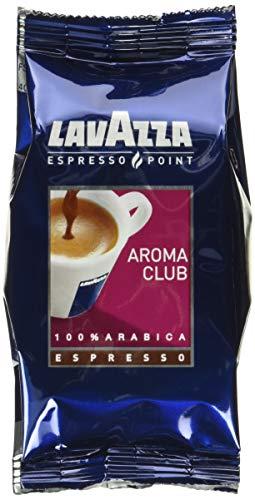 Lavazza Espresso Point Patronen Aroma Club Kapseln 100% Arabica Mischung (100 Stück) Einzelkaffeekapseln & Kapseln, blau